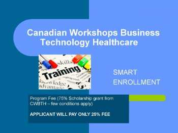 Smart Enrollment Program from CWBTH